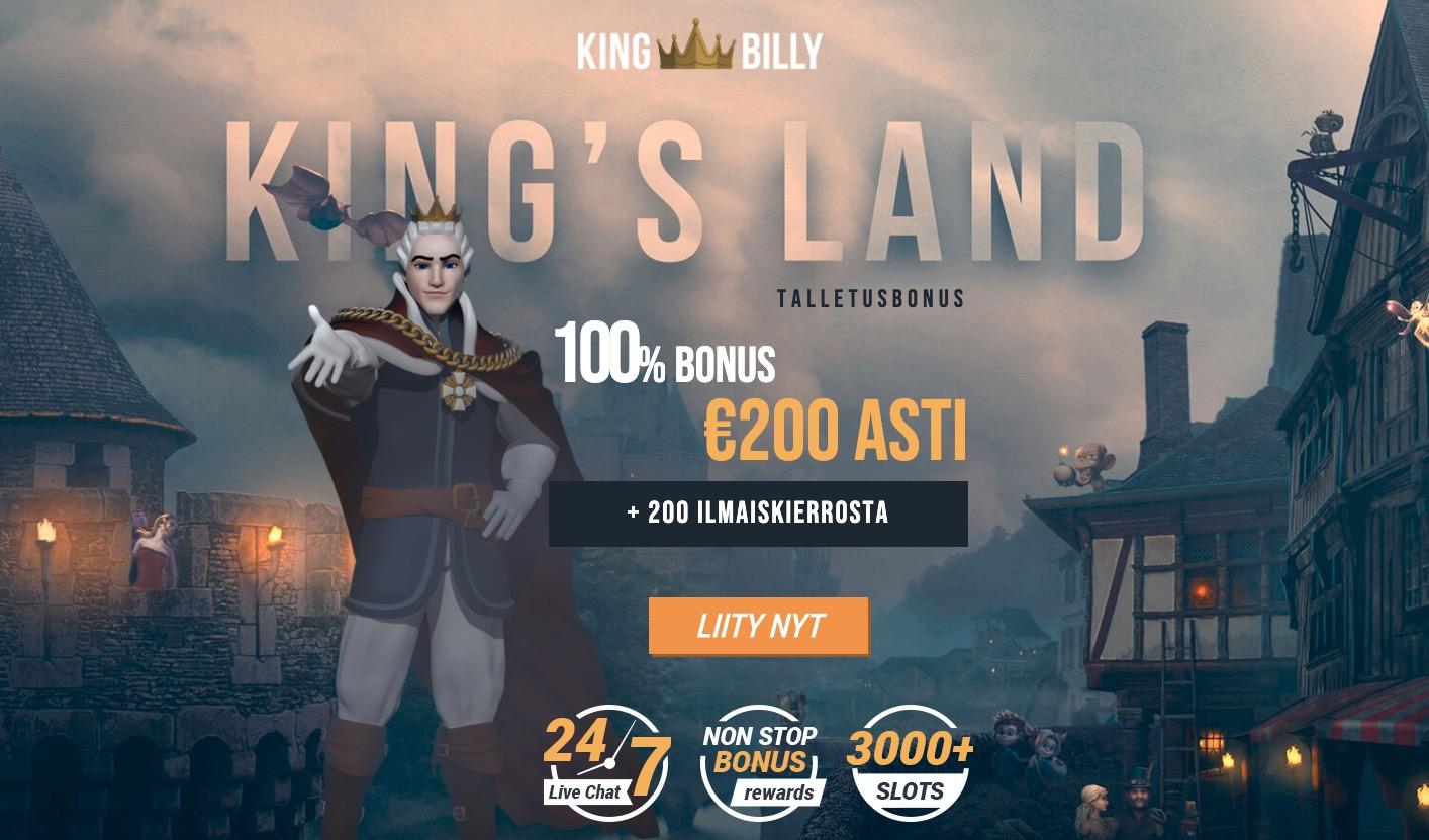 King Bill rekisteröinti