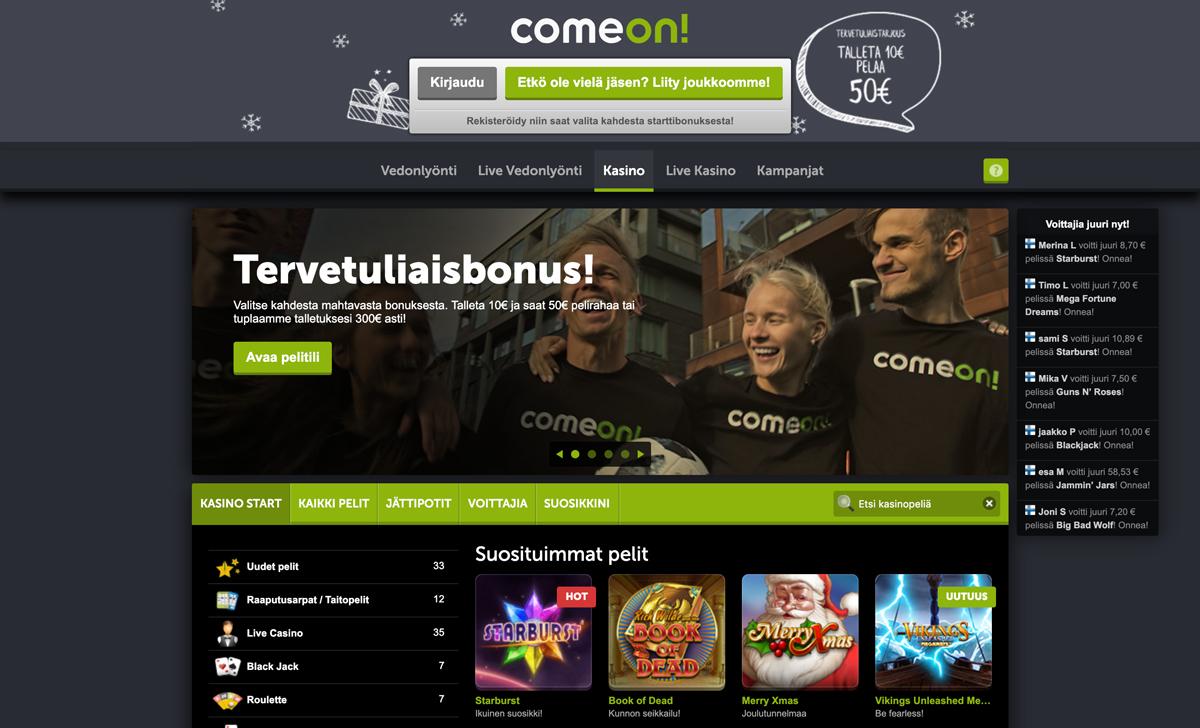 comeon-casinon-pelit-ja-peliaula