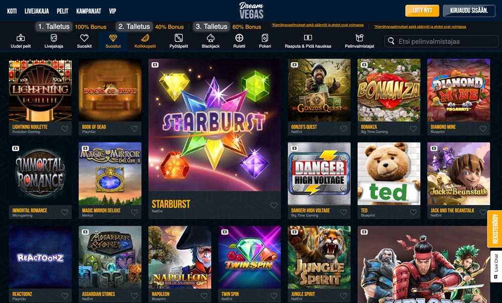 dreamvegas-casinon-pelit