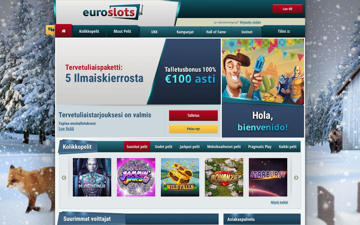 euroslots-casino-etusivu