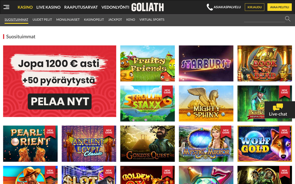 goliath-casino-pelit