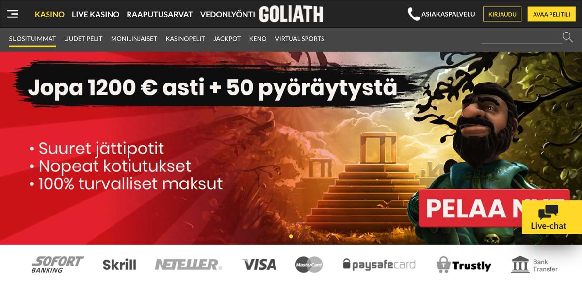 goliath-casino-etusivu
