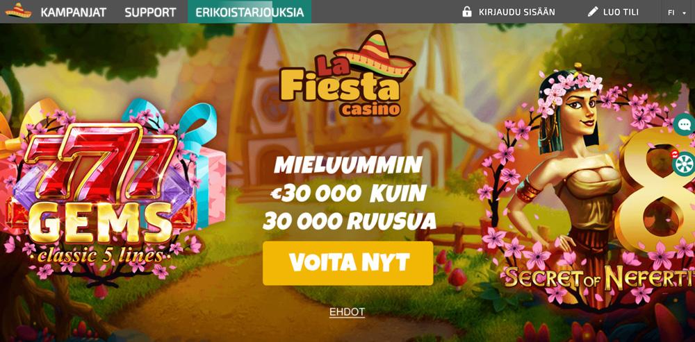 la-fiesta-casino-etusivu