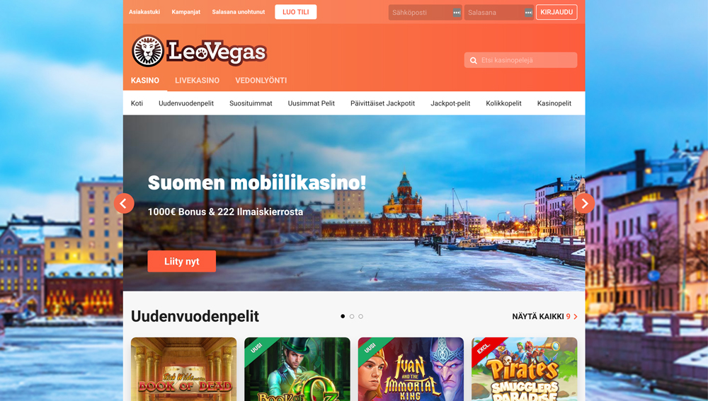 leovegas-casinon-sivustonäkymä