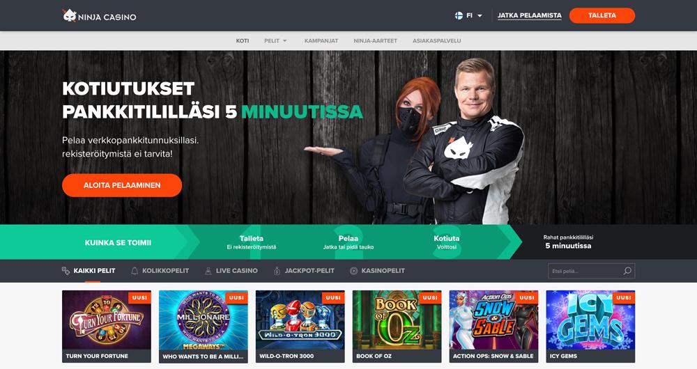 ninja-casino-sivusto-ja-bonus