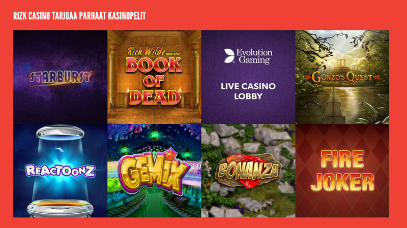 rizk-casinon-parhaat-pelit