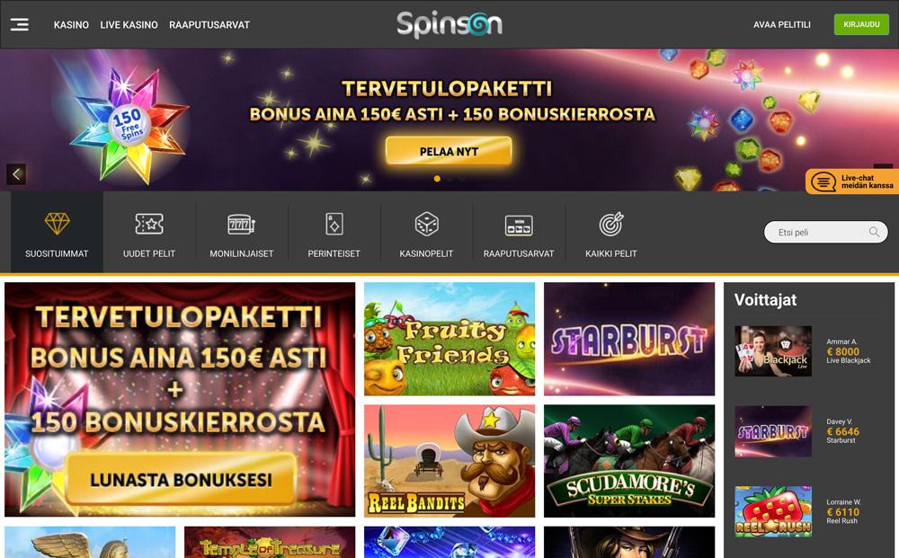 spinson-casino-pelit