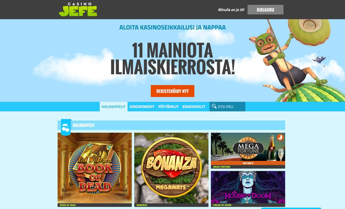 casino-jefe-casinon-pelit-ja-esittely