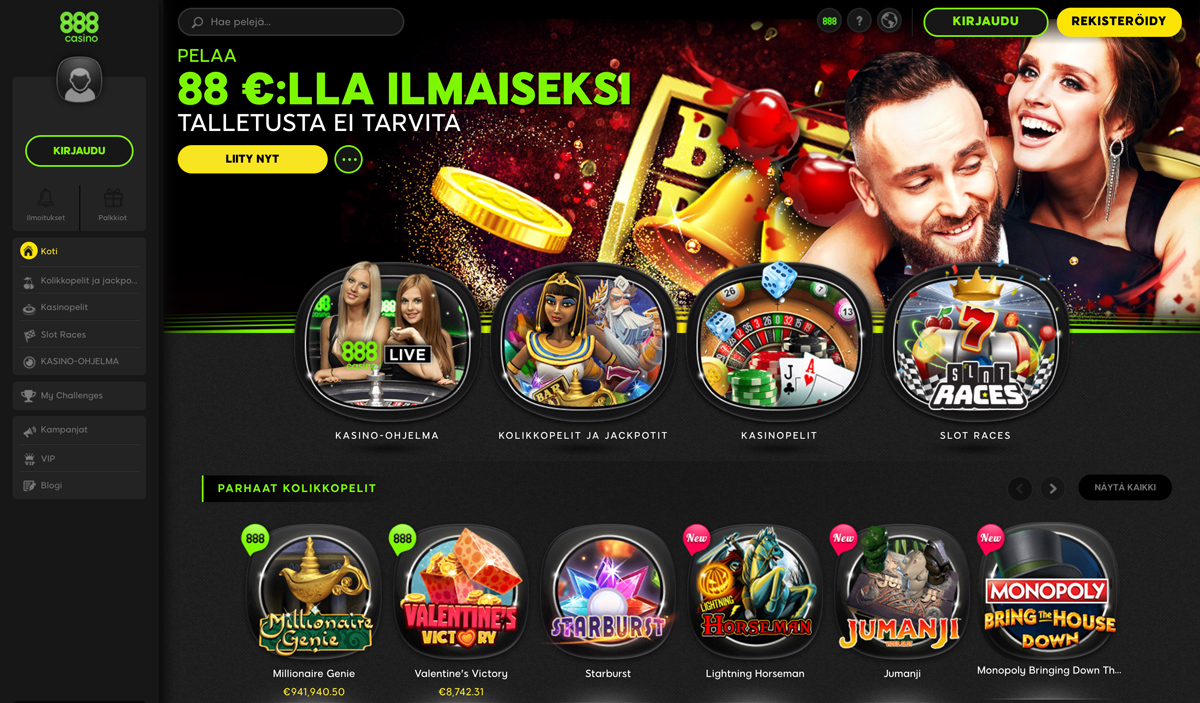 888-casino-etusivu