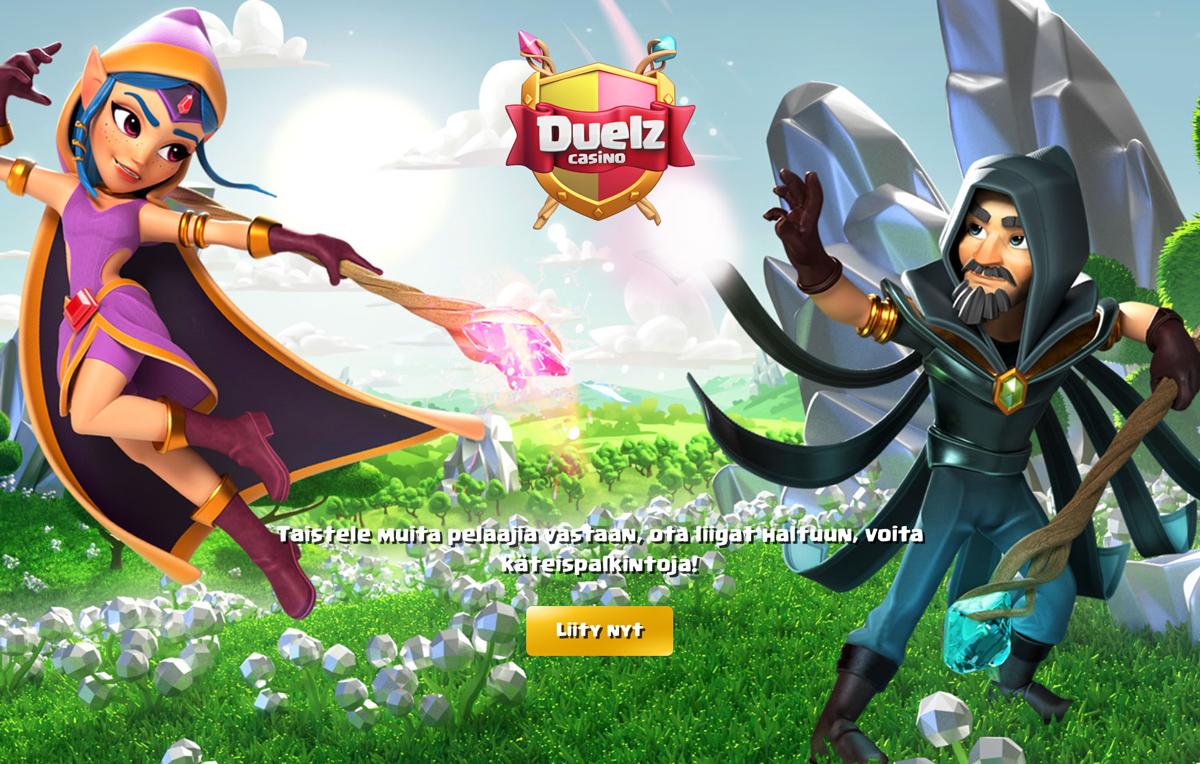 duelz-casino-etusivu