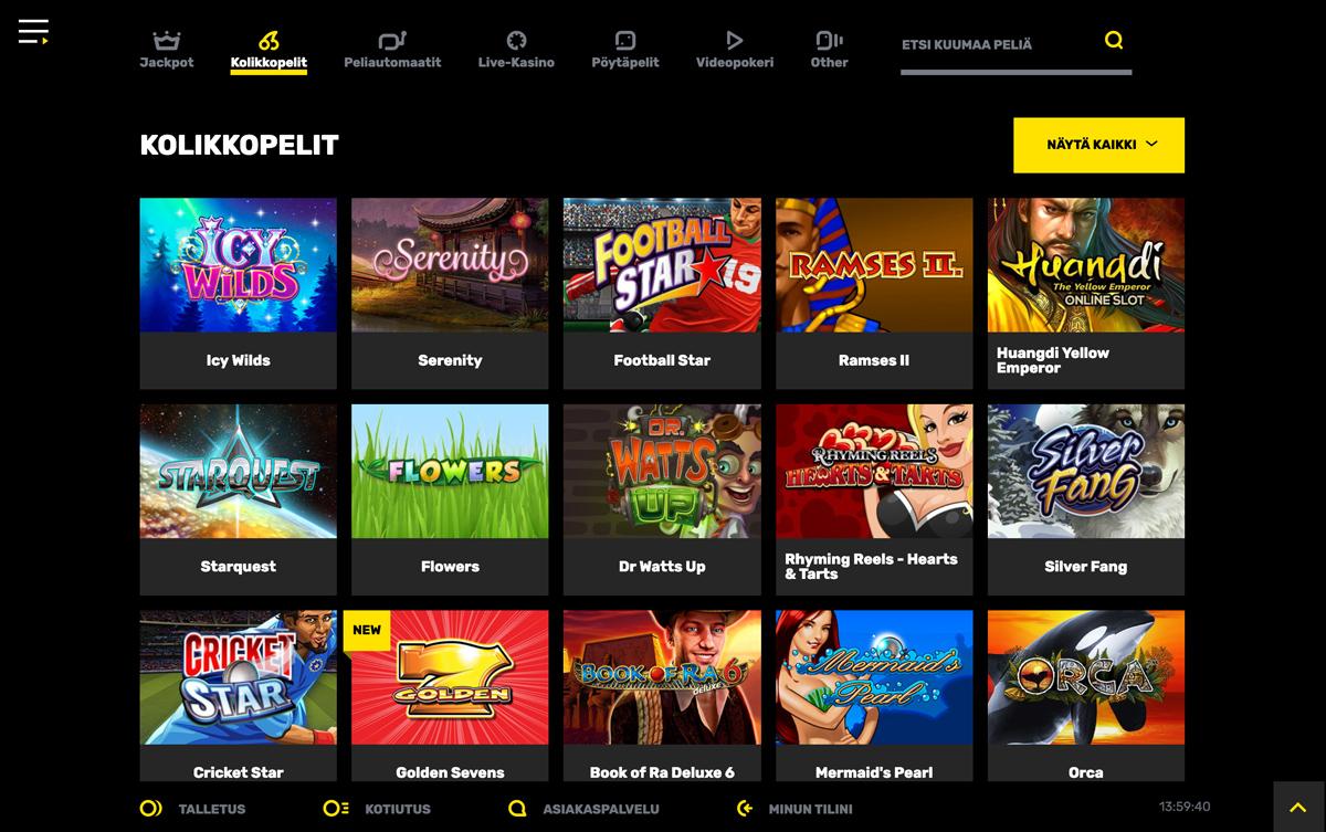 hyper-casino-pelit