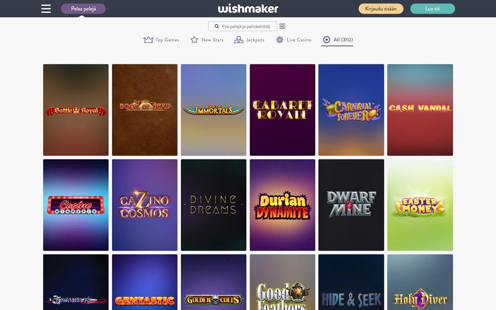 wishmaker-casino-pelit