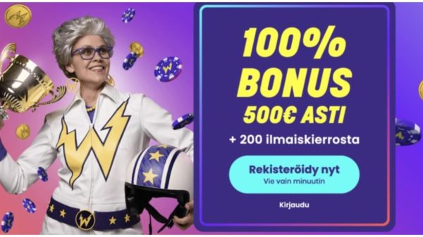 Kasinokaverien suositus: Wildz Casino on vuoden 2019 paras uutuuskasino!
