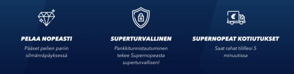 SuperNopean teemat