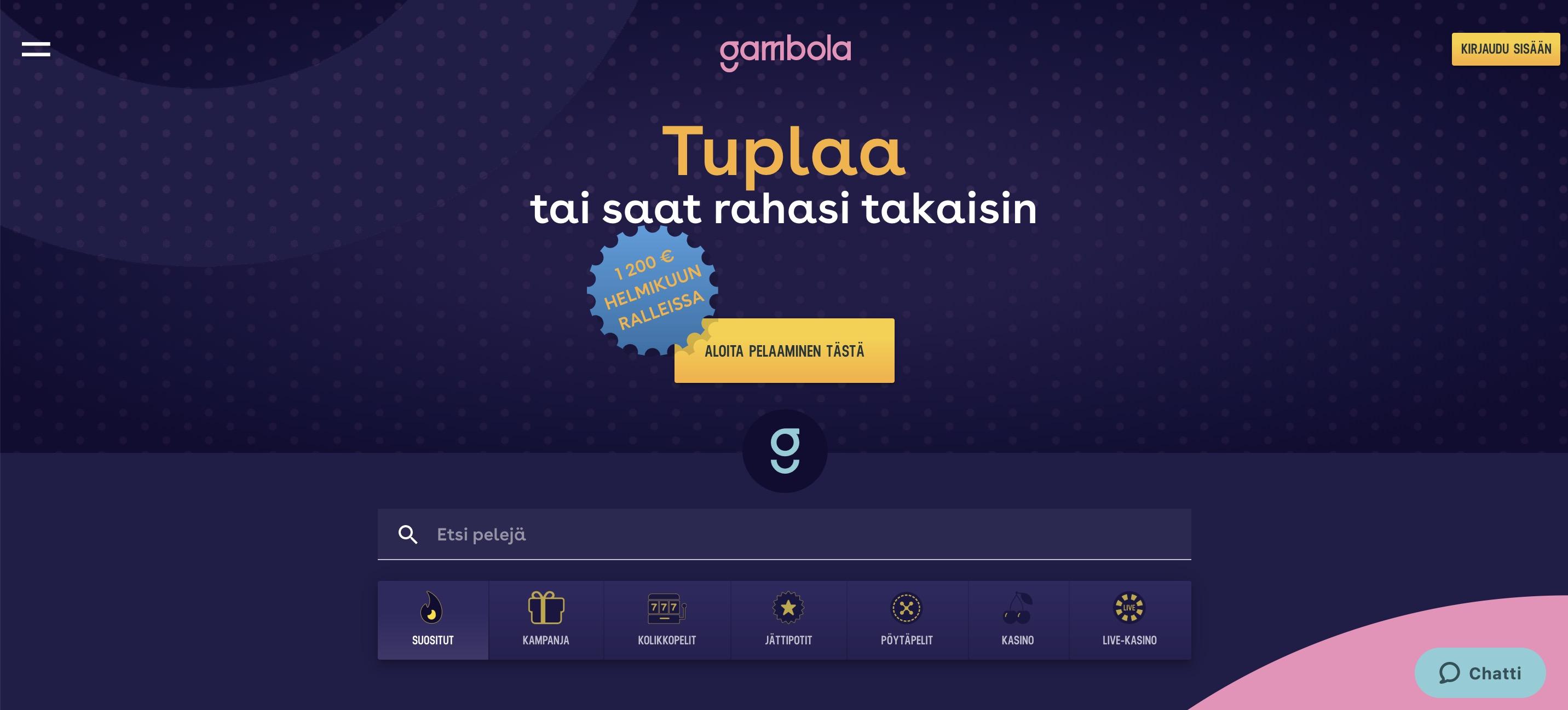Gambo Casino arvostelu
