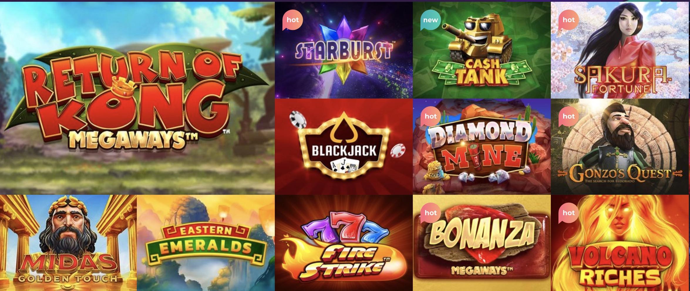 Casino kolikkopelit